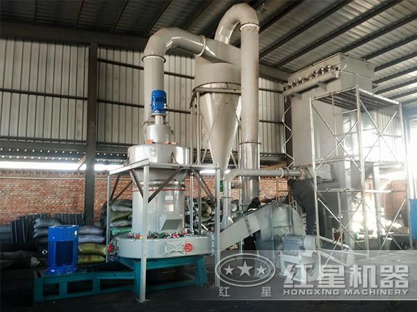 绿泥石磨粉生产线现场