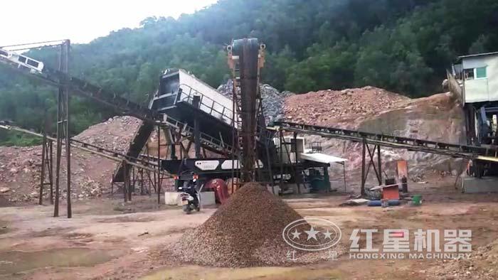 四川成都王先生石料厂现场