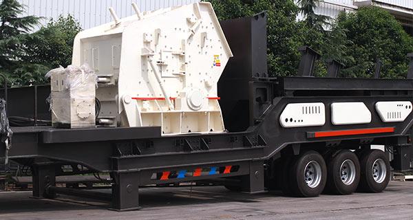 柴油动力的可移动破碎机让石头破碎轻而易举,实惠价格来助阵