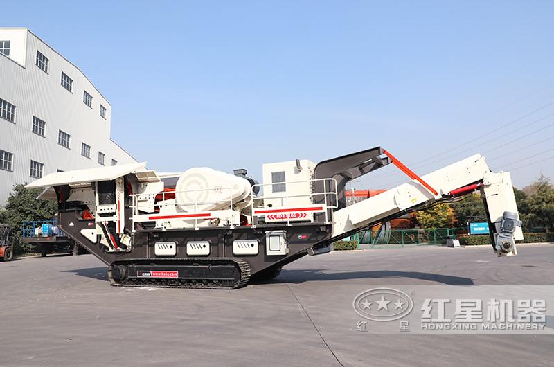 履带式移动式制砂机:配制砂机