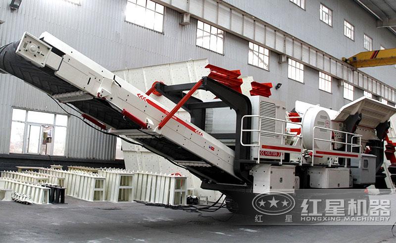 一小时200吨到300吨可移动打石子机厂家