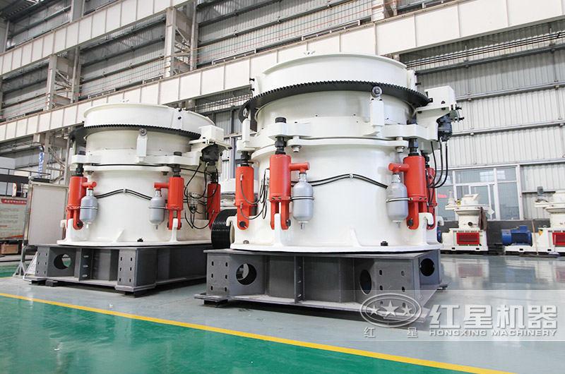 多缸液压圆锥破碎机(产量72-1100t/h)