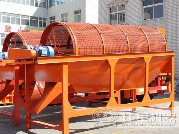 污泥陶粒砂设备:筛分机