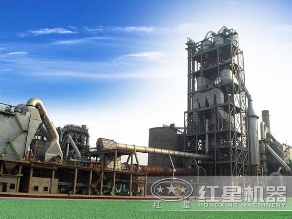湖南水泥生产线现场