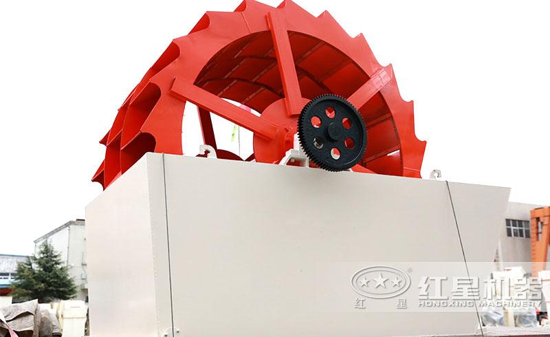 XS轮式洗砂机,多轮斗洗沙,省水省电