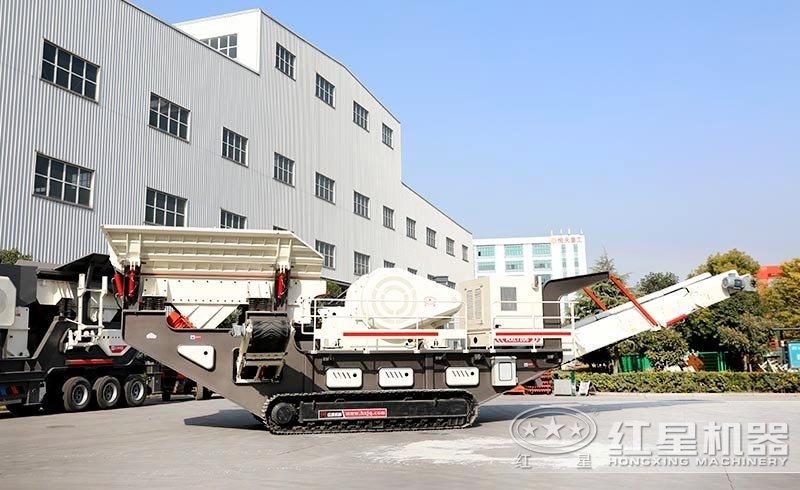 移动式机制砂设备厂家:履带移动破