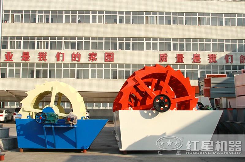 叶轮洗砂机,三轮斗,高产高效,时产可达200吨