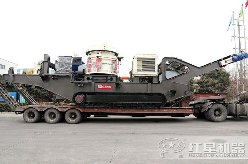 HXTSC160履带移动圆锥破