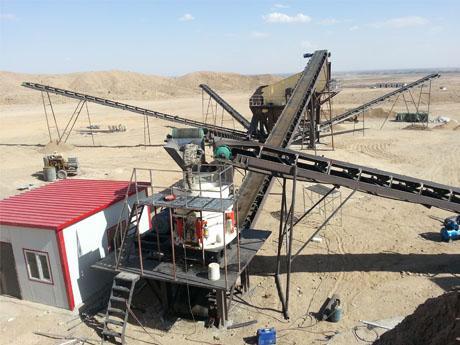 四川广安700t/h湿法制砂生产线项目
