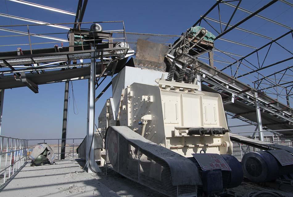 湖北时产500吨石灰石制砂生产线