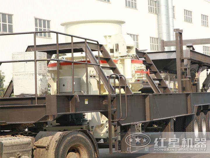 HVI冲击式小型制砂碎石机机,制砂+整形
