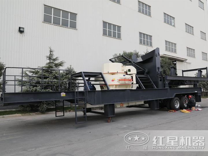 VSI冲击式小型制砂碎石机,产量高,稀油自润滑