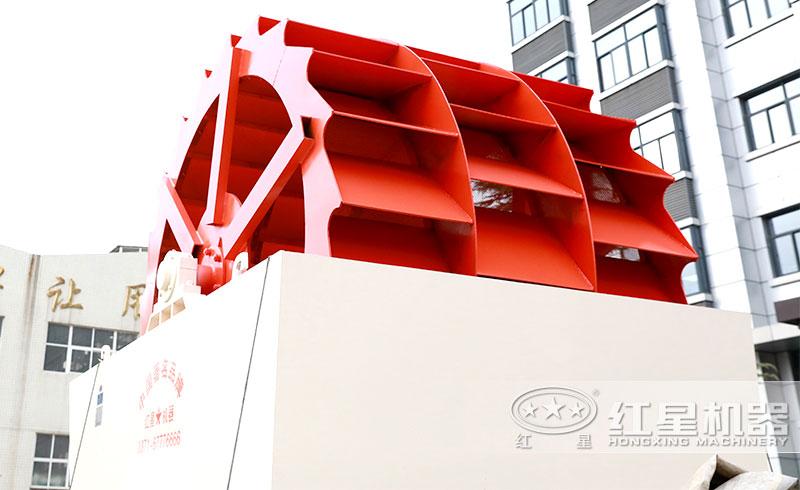 三轮轮斗式洗砂机,产量120-200t/h