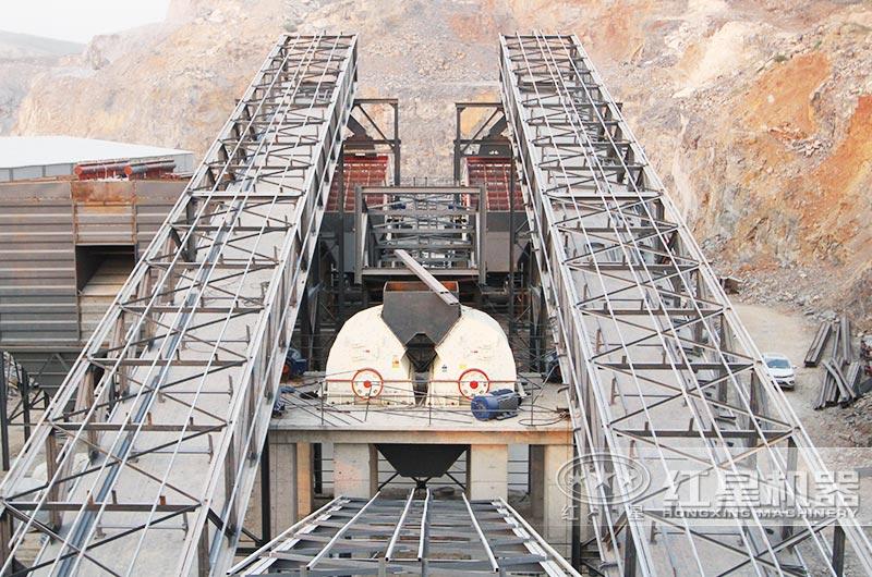 时产800吨石料厂破碎生产线:重锤破