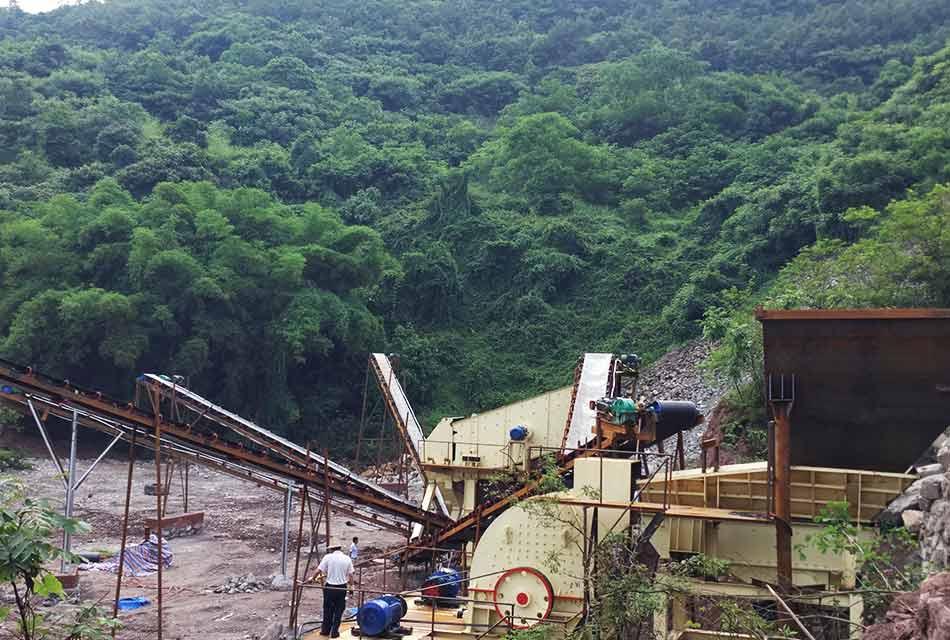 四川攀枝花时产600吨石英石破碎生产线