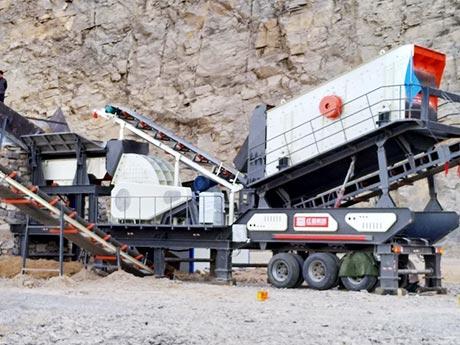 山西时产300吨煤炭移动破碎生产线