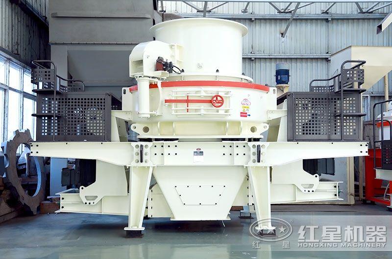 HVI冲击式制砂机产量70-585t/h,粒度均匀