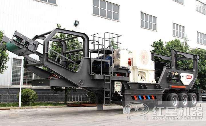 HX938HD86移动颚式制砂生产机