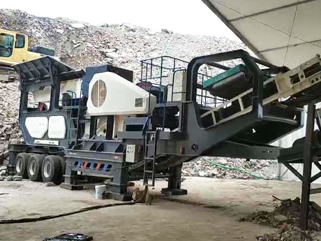 山西时产100-150吨建筑垃圾处理生产线