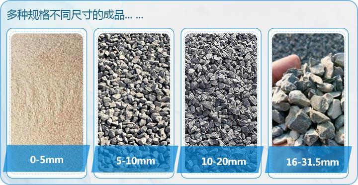日产3500吨石灰石制砂,多种不同规格成品