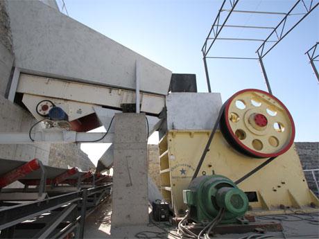 安徽时产500-600吨石灰岩破碎生产线