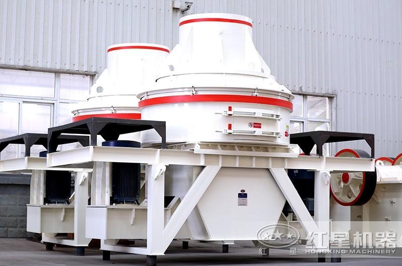直通冲击式制砂机,体积小,重量轻,功耗小