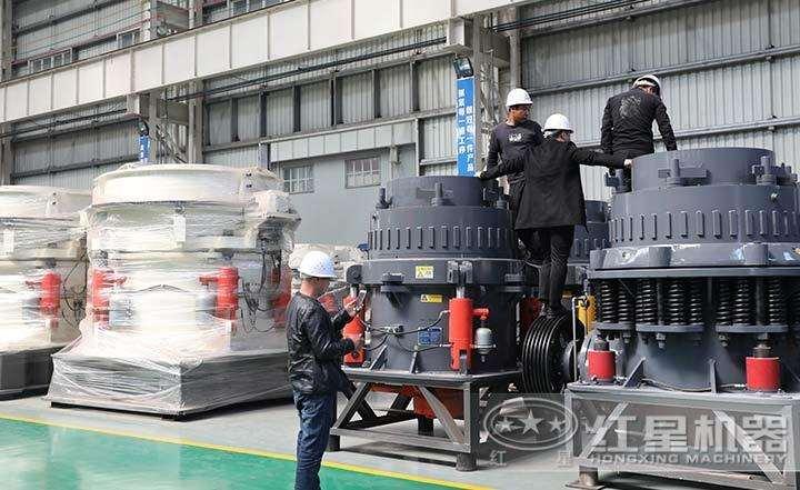 全液压圆锥破碎机,液压过载保护装置,自动调节出料粒度
