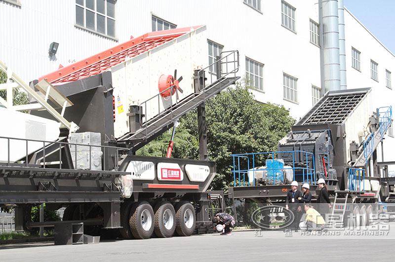 移动混凝土块破碎机厂家,多款机型提供