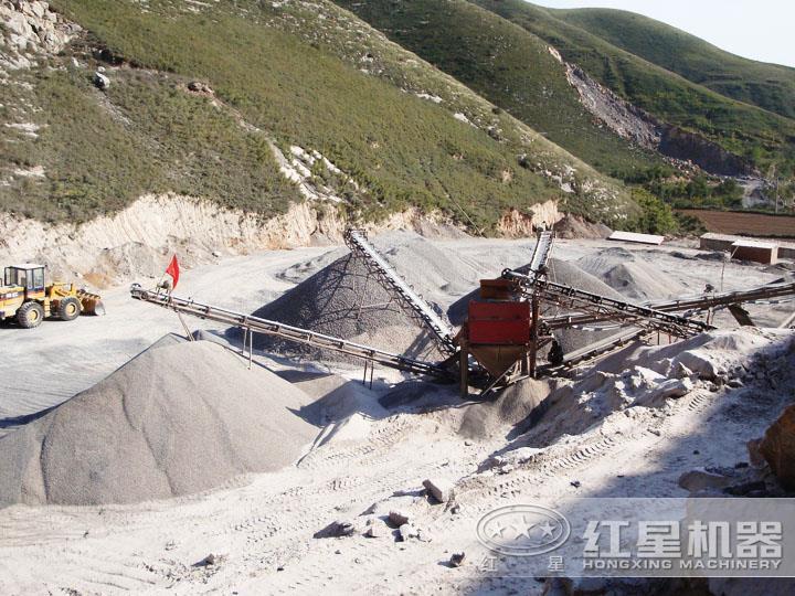 大型环保石子制砂生产线