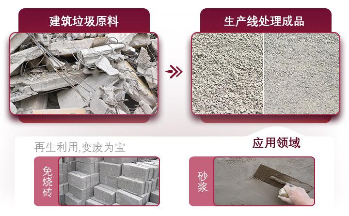 水泥路面废料利用价值高,设备投资成本小,回本快