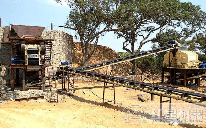 时产500吨机制砂生产线设备搭配及价格