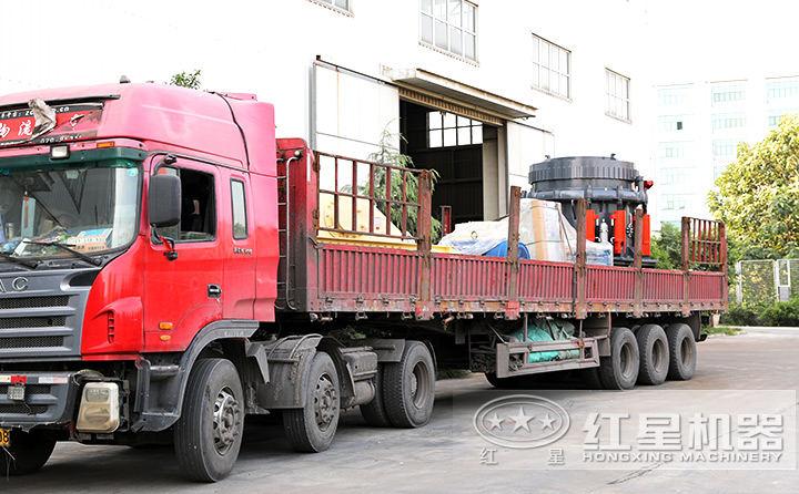 月产6-7万吨机制砂生产线设备(圆锥破)待发货