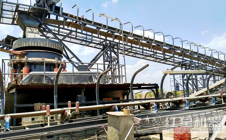 使用了2年依然稳定运行的月产6-7万吨机制砂生产线