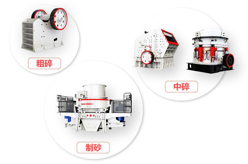 固定系列机制砂生产线设备
