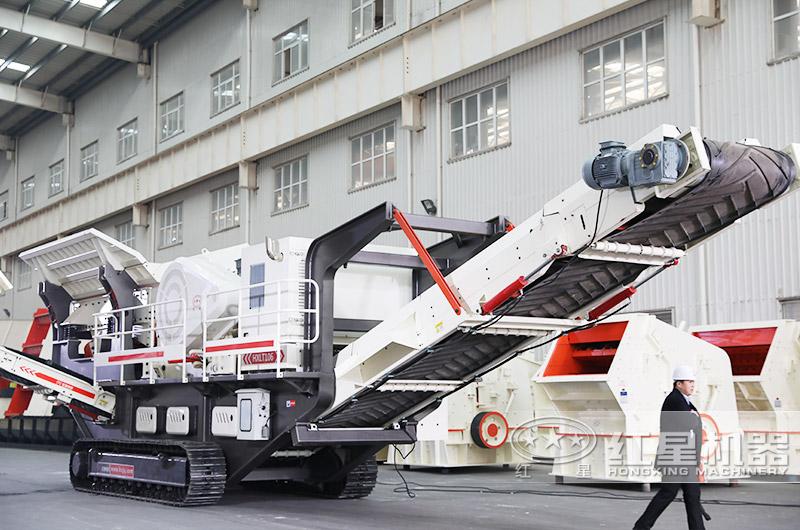 流动煤矸石破碎机,效能高节能产量大