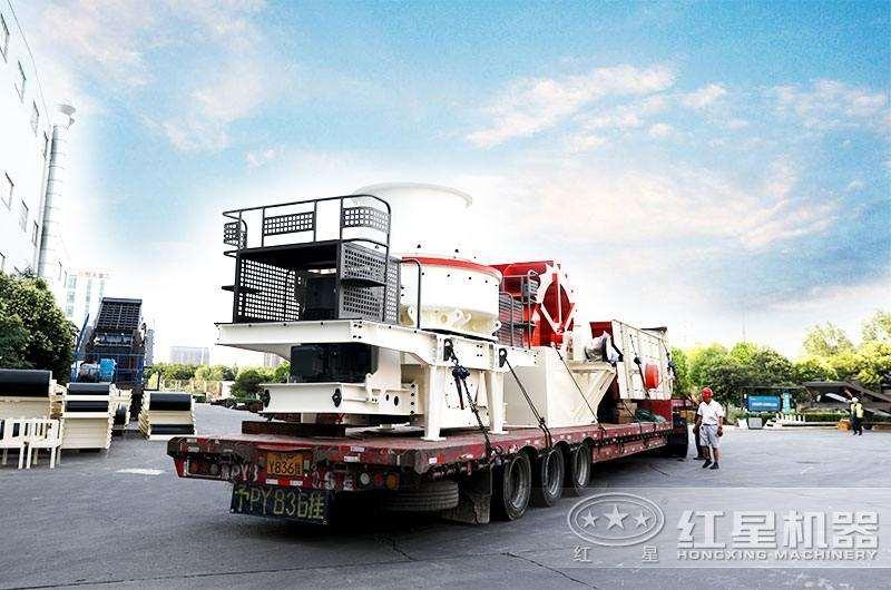 全套制砂生产线设备发往客户现场