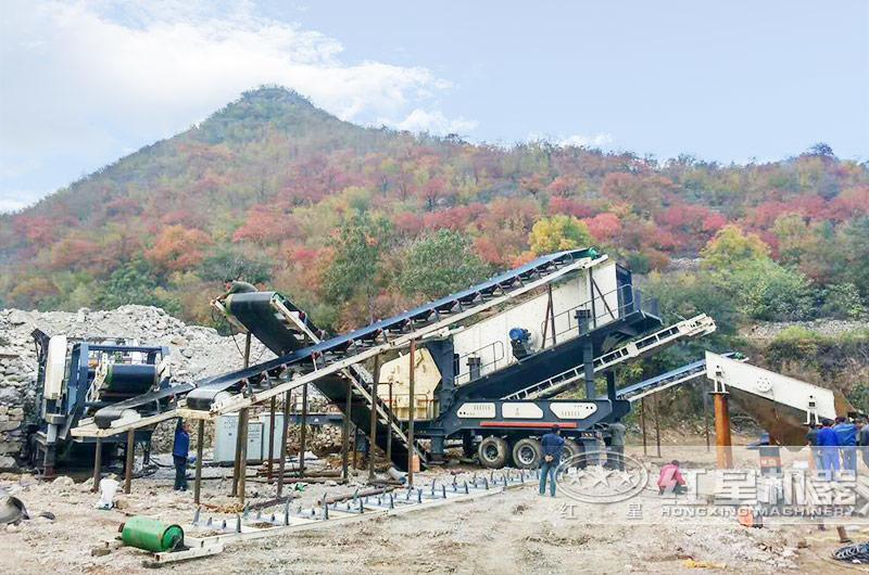 废建筑材料生产石子用移动式设备更划算