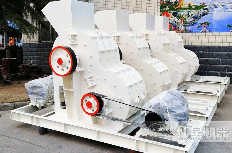 双级破碎机可处理高湿度物料