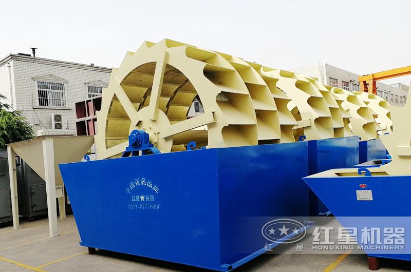 轮斗式洗砂机三轮产量高达90-260t/h