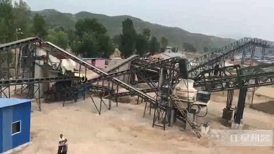 400吨花岗岩制砂生产线山西太原
