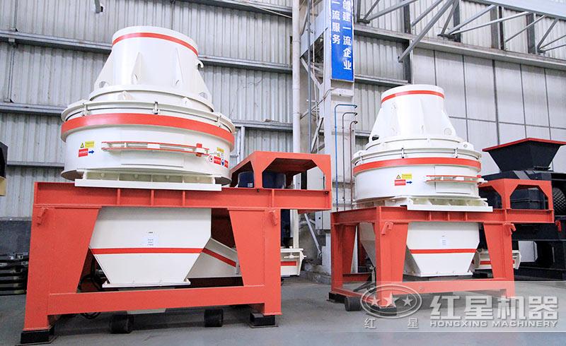 固定磨砂机:HX直通式制砂机