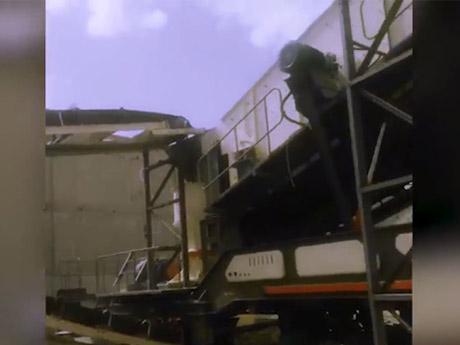时产400吨辉绿岩移动破碎生产线河北