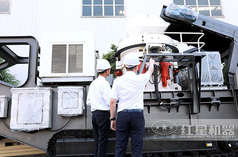 移动式液压碎石机欢迎用户咨询