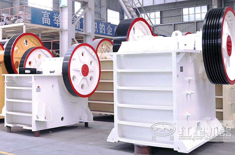 砂石料生产线全套设备:颚式破碎机