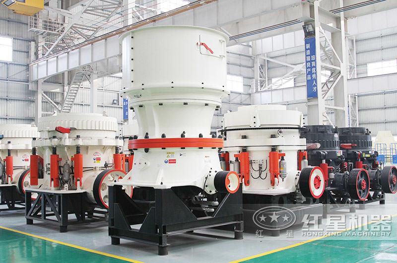 砂石料生产线全套设备:圆锥破碎机
