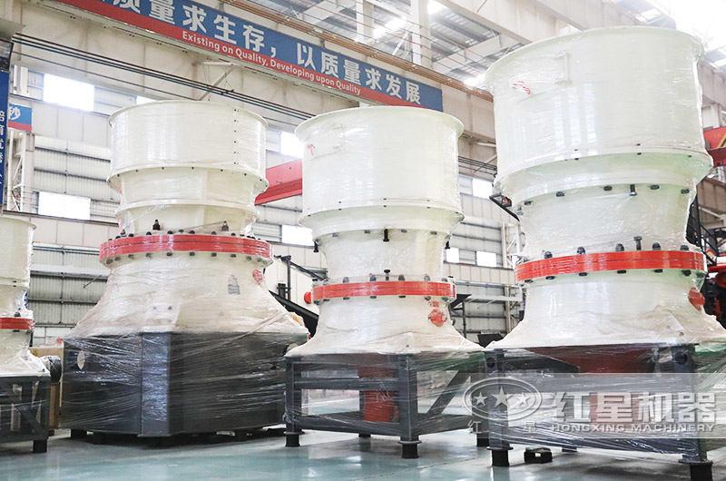 单缸圆锥式破碎机:适用于高硬度物料
