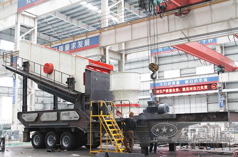 移动制石制砂设备:智能化生产效率提高40%