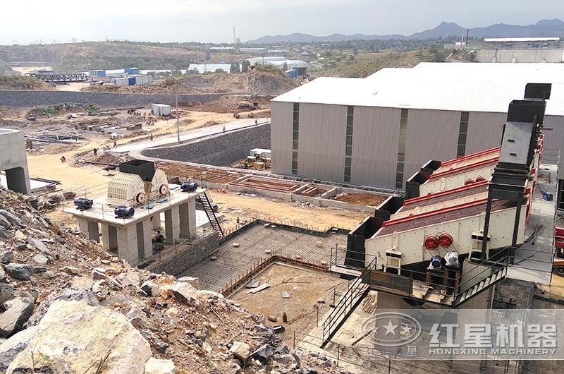 人工砂石厂