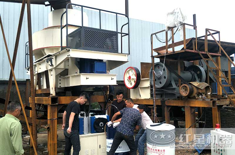 安徽滁州客户生产现场