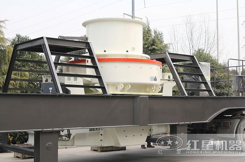 时产100吨移动制砂机、配置HVI制砂机